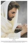 We Heard Him Pray For Us - 11 x 17 print