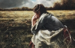 As A Sparrow Alone - 11 x 17 giclée on canvas (pre-mounted)