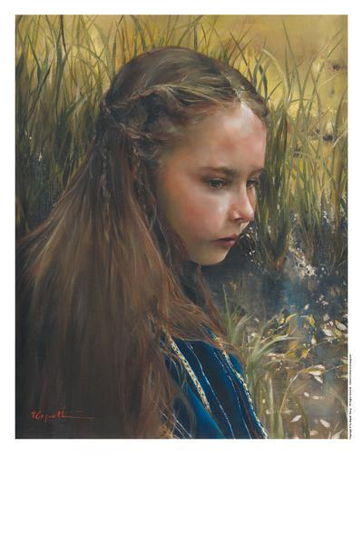 By The River's Brink - 11 x 14 print by Elspeth Young