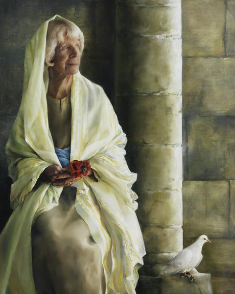 The Substance Of Hope - 24 x 30 giclée on canvas (unmounted) by Elspeth Young