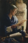 Treasure The Word - 18 x 27.5 giclée on canvas (unmounted)