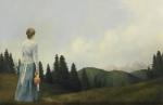 Mountain Home - 5.75 x 9 giclée on canvas (pre-mounted)