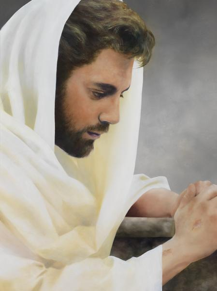 We Heard Him Pray For Us - 18 x 24 giclée on canvas (pre-mounted) by Al Young