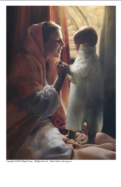 For This Child I Prayed - 5 x 7 print by Elspeth Young
