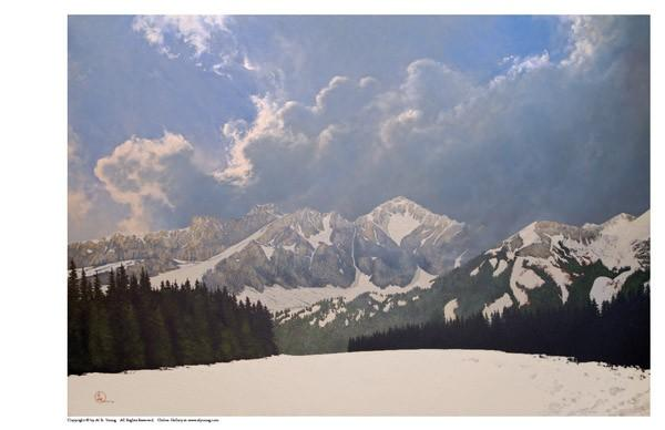 Den Kommende Våren - 11 x 17 print by Al Young