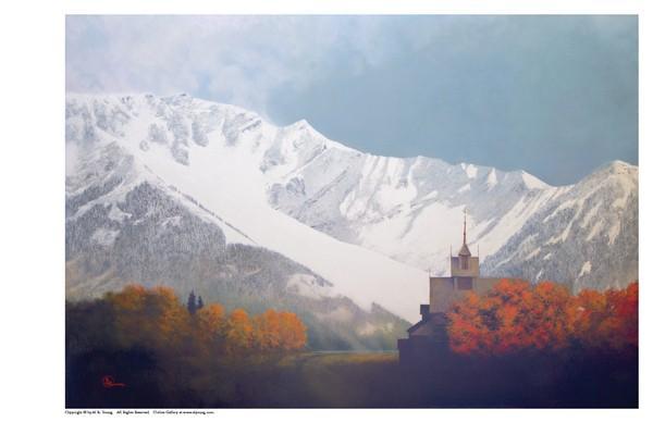Den Kommende Vinteren - 11 x 17 print by Al Young