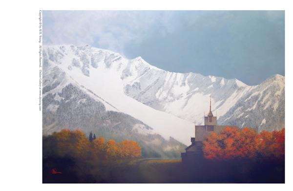 Den Kommende Vinteren - 5 x 7 print by Al Young
