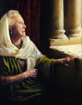 Blessed Is She That Believed - 11 x 14 giclée on canvas (pre-mounted)