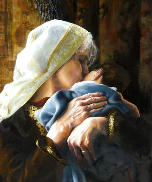 Is Anything Too Hard For The Lord - 20 x 24 giclée on canvas (unmounted) by Elspeth Young