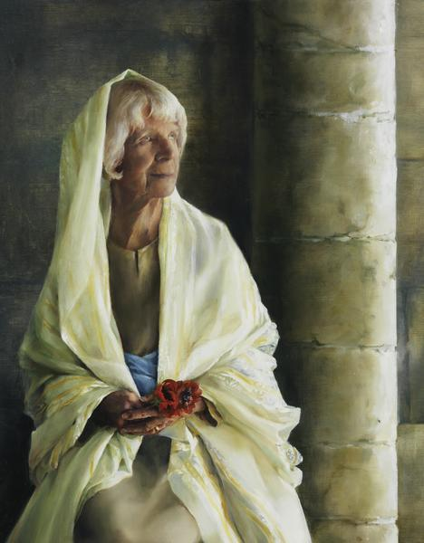 The Substance Of Hope - 14 x 18 giclée on canvas (pre-mounted) by Elspeth Young