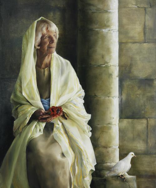 The Substance Of Hope - 20 x 24 giclée on canvas (unmounted) by Elspeth Young