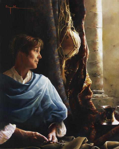 Forsaking All - 16 x 20 giclée on canvas (pre-mounted) by Elspeth Young