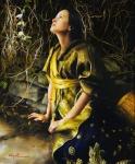 God Liveth And Seeth Me - 20 x 24 giclée on canvas (unmounted)