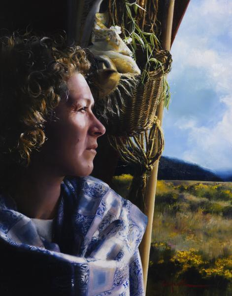 The Struggle Within - 11 x 14 giclée on canvas (pre-mounted) by Elspeth Young