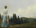 Mountain Home - 11 x 14 giclée on canvas (pre-mounted)