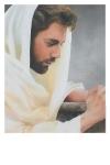 We Heard Him Pray For Us - 11 x 14 print