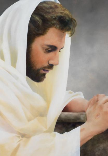 We Heard Him Pray For Us - 18 x 26 giclée on canvas (unmounted) by Al Young
