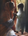 For This Child I Prayed - 16 x 20 giclée on canvas (pre-mounted)