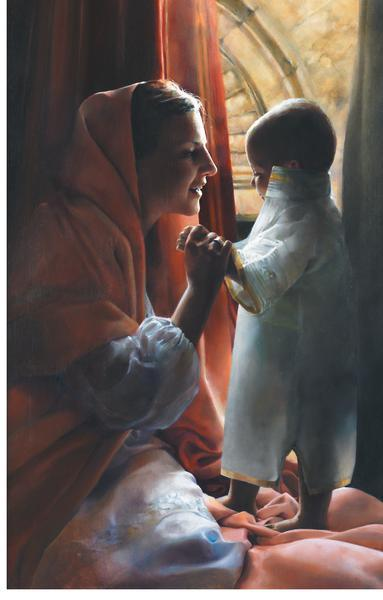 For This Child I Prayed - 20 x 31.25 print by Elspeth Young