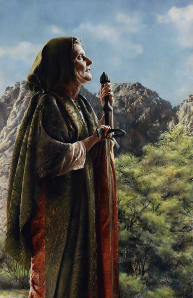 I Arose A Mother In Israel - 11 x 17 giclée on canvas (pre-mounted) by Elspeth Young
