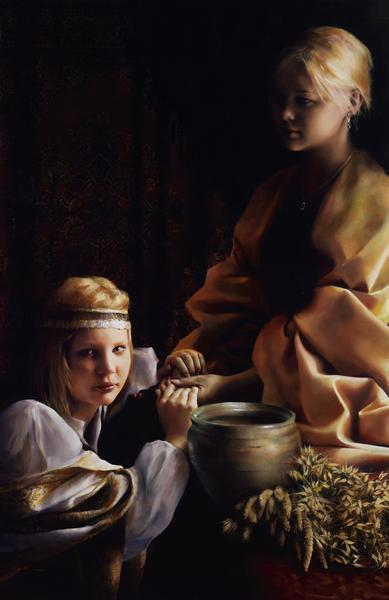 The Trial Of Faith - 11 x 17 giclée on canvas (pre-mounted) by Elspeth Young