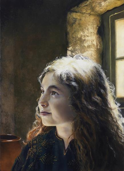 I Say Unto Thee, Arise - 16 x 22 giclée on canvas (pre-mounted) by Al Young