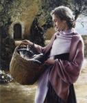 And Martha Served - 18 x 21.25 giclée on canvas (pre-mounted)