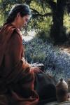 She Is Come Aforehand - 24 x 36 print