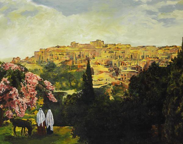 Unto The City Of David - 11 x 14 giclée on canvas (pre-mounted) by Ashton Young