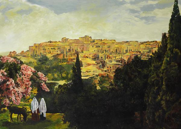 Unto The City Of David - 20 x 28 giclée on canvas (unmounted) by Ashton Young