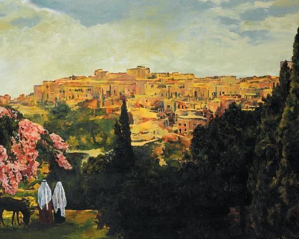 Unto The City Of David - 16 x 20 print by Ashton Young