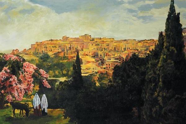 Unto The City Of David - 20 x 30 print by Ashton Young
