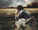 As A Sparrow Alone - 8 x 10 giclée on canvas (pre-mounted)