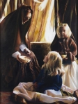 The Daughters Of Zelophehad - 12 x 16 giclée on canvas (pre-mounted)