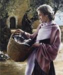 And Martha Served - 12 x 14 giclée on canvas (pre-mounted)
