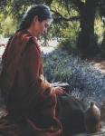 She Is Come Aforehand - 14 x 18 print
