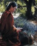 She Is Come Aforehand - 16 x 20 print
