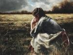As A Sparrow Alone - 12 x 16 giclée on canvas (pre-mounted)