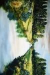 Peace Like A River - 6 x 9 giclée on canvas (pre-mounted)