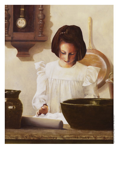 Sara Crewe - 11 x 14 print by Al Young