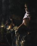 A Lamp Unto My Feet - 8 x 10 giclée on canvas (pre-mounted)