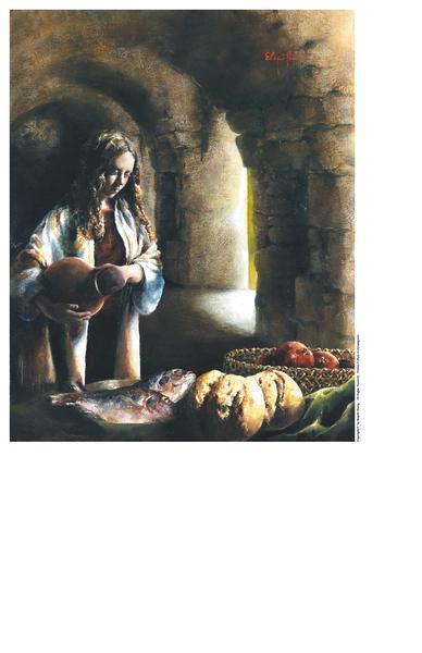 Martha, Martha - 9 x 11.25 print by Elspeth Young