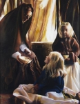 The Daughters Of Zelophehad - 14 x 18 giclée on canvas (pre-mounted)