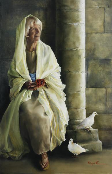 The Substance Of Hope - 11 x 17 giclée on canvas (pre-mounted) by Elspeth Young