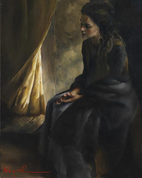 What Is To Be Done For Thee - 8 x 10 giclée on canvas (pre-mounted) by Elspeth Young