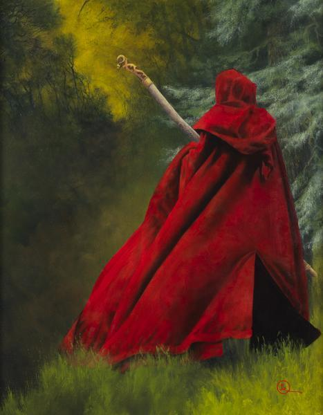 And I Will Not Deny The Christ - 14 x 18 giclée on canvas (pre-mounted) by Al Young