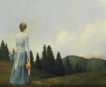 Mountain Home - 20 x 24 giclée on canvas (unmounted)