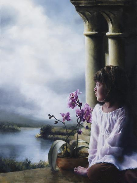 The Seed Of Faith - 18 x 24 giclée on canvas (pre-mounted) by Elspeth Young
