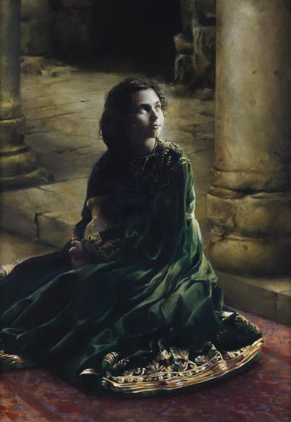 According To Thy Word - 6 x 8.75 giclée on canvas (pre-mounted) by Elspeth Young