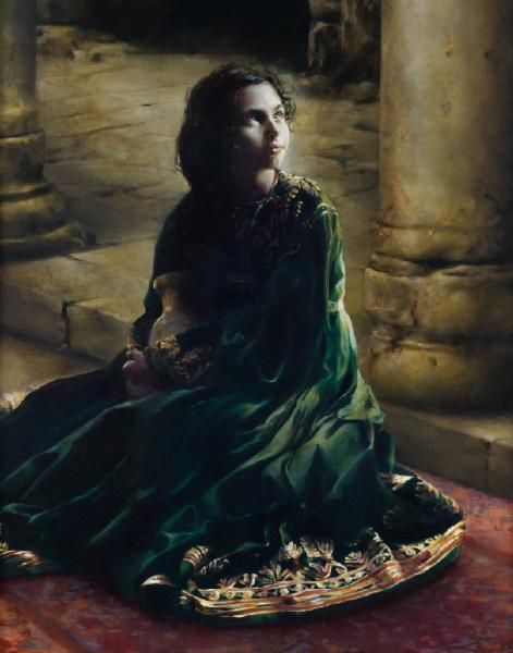 According To Thy Word - 11 x 14 giclée on canvas (pre-mounted) by Elspeth Young